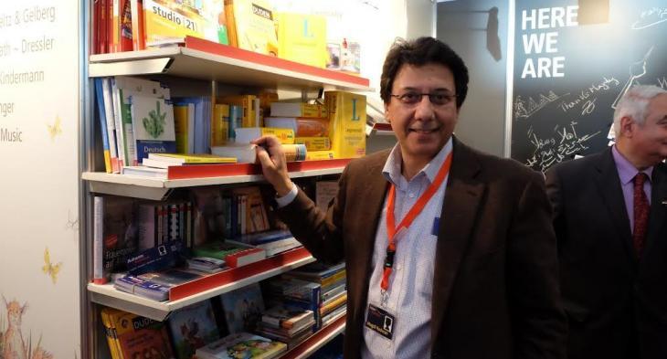 Verleger Magdi Radwan von der Buchhandlung Adam; Foto: Amira El Ahl