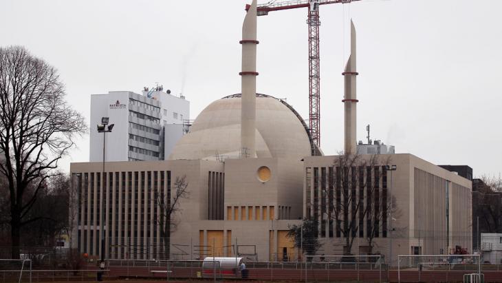 Moscheebau in Köln-Ehrenfeld; Foto: dpa/picture-alliance