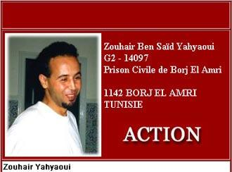 Zouhair Yahyaoui; Screenshot der Internetseite www.TuneZine.com