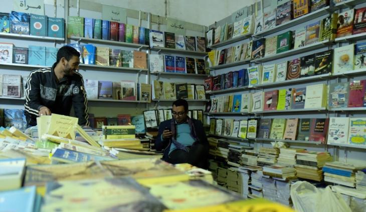 Stand at the Cairo International Book Fair 2014 (photo: Amira El Ahl)
