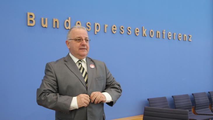 Der Vorsitzende der Türkischen Gemeinde in Deutschland, Kenan Kolat, Foto: dpa/picture-alliance