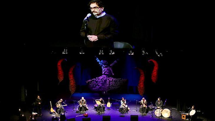 Konzert des iranischen Sängers Shahram Nazeri in Teheran; Foto: MEHR