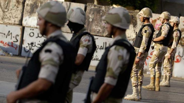 Einheiten der ägyptischen Armee in Kairo; Foto: Reuters
