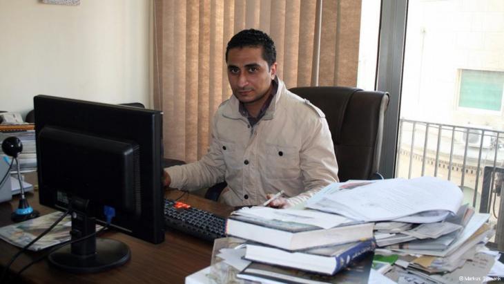 Ägyptischer Anwalt Ahmed Ezzat; Foto: Markus Symank
