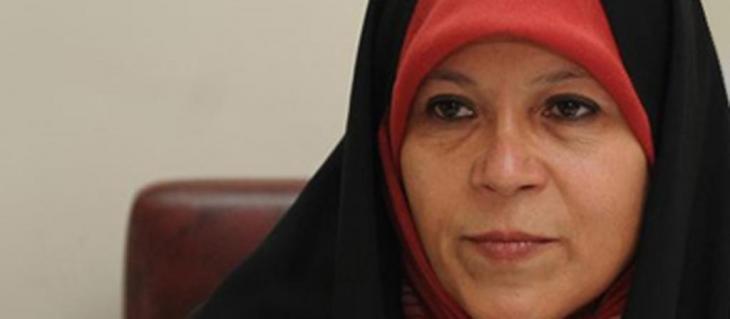 Fa'eze Hashemi; Foto: nasimonline.ir