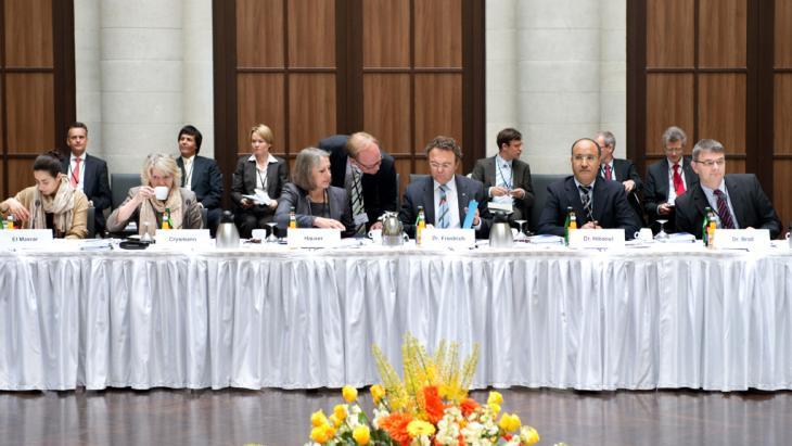 Deutsche Islamkonferenz unter Ex-Innenminister Friedrich in Berlin; Foto: picture-alliance