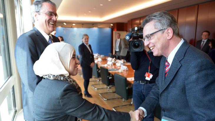 Thomas de Maizière (CDU); Foto: dpa/picture-alliance