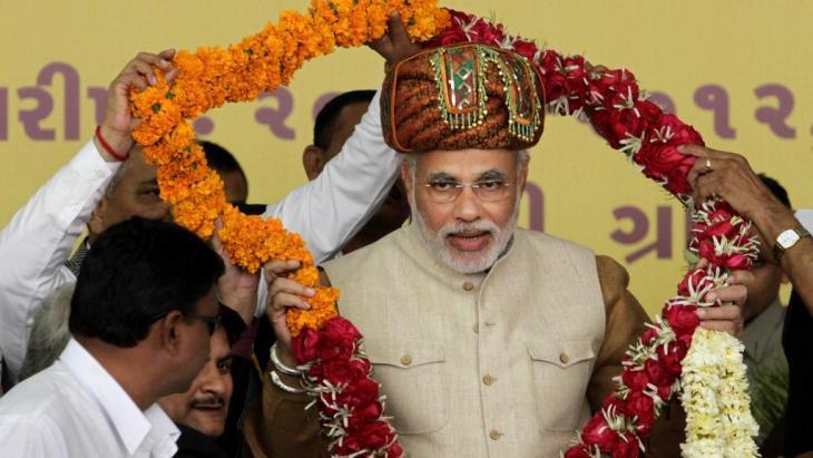 Narendra Modi; Foto: AP