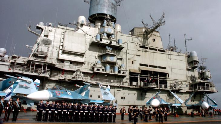 Der russische Flottenstützpunkts in Tartus; Foto: picture-alliance/dpa