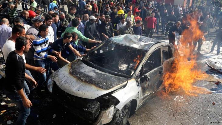 Bombenanschlag in Beirut; Foto: Reuters