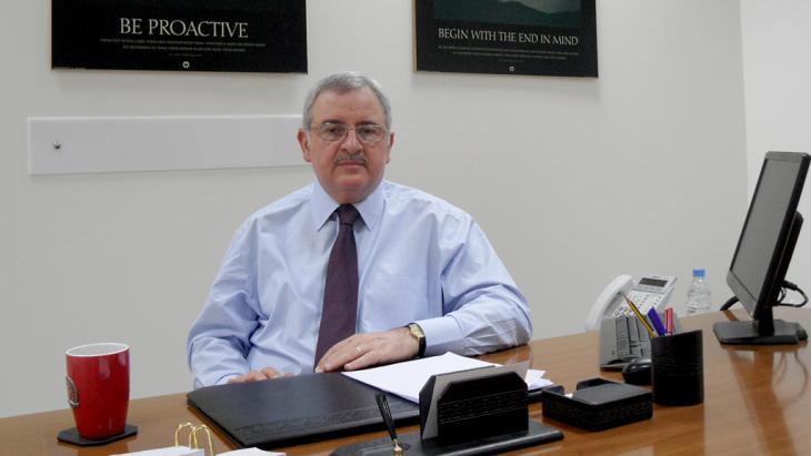 Der Politiker Jean Oghassapian; Foto: Ben Knight