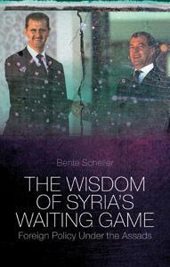 """Buch-Cover """"The Wisdom of Syria's Waiting Game"""" von Bente Scheller"""