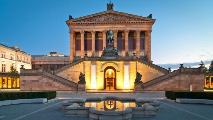 Alte Nationalgalerie Berlin; Foto: Fotolia/mkrberlin