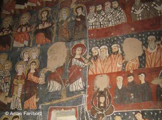 Fresken im Kloster Deir Mar Musa; Foto: Arian Fariborz