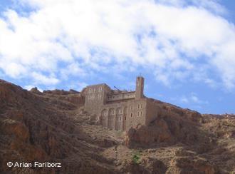 Das syrische Kloster Deir Mar Musa; Foto: Arian Fariborz
