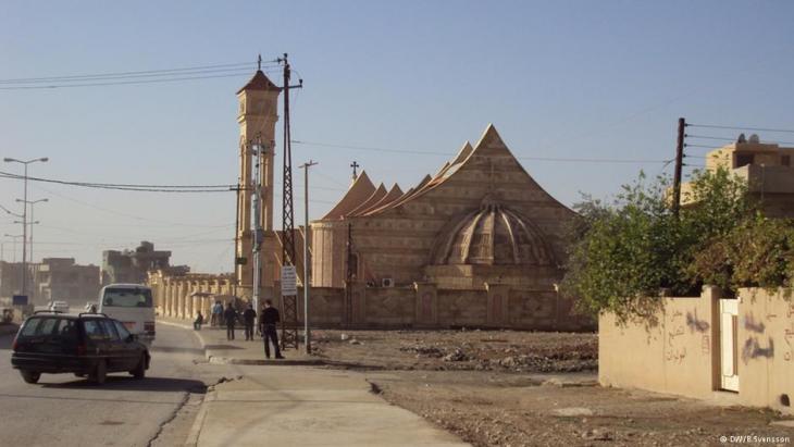 Kirche in Bagdad; Foto: DW/Birgit Svensson