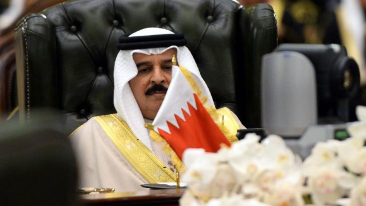 Bahrains König Hamad bin Isa Al-Khalifa; Foto: dpa/picture-alliance