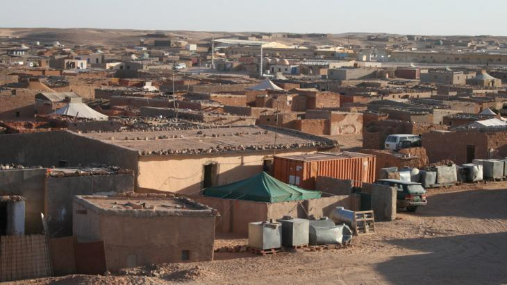 Westsahrauisches Flüchtlingscamp in Tindouf; Foto: Mahrez Ben Chenouf