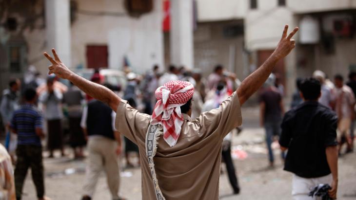 """Anhänger der separatistischen """"Südlichen Bewegung"""" in Aden; Foto: Reuters"""