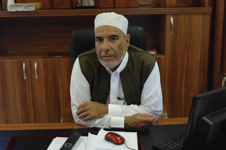 Mansour Salihin, einer der Anführer der militanten Föderalisten; Foto: Valerie Stocker