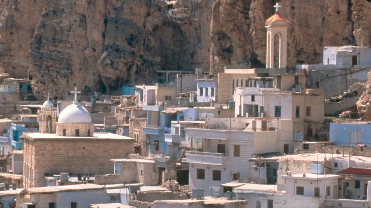 Blick auf das syrische Maalula; Foto: picture-alliance/akg-images/Hedda Eid