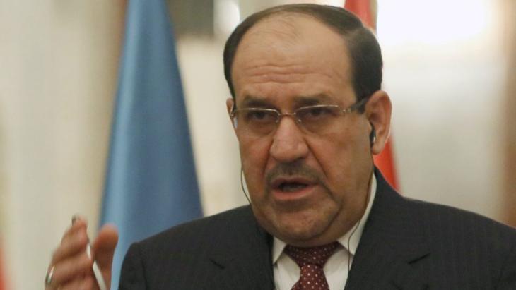 Der irakische Ministerpräsident Nouri al-Maliki; Foto: dpa/picture-alliance