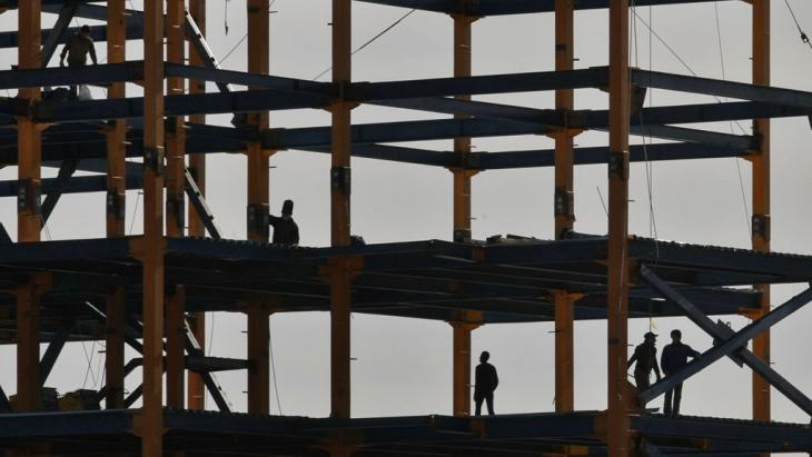 Baustelle im Norden Teherans; Foto: IRNA