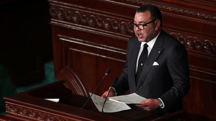 Marokkos König König Mohammed VI.; Foto: picture-alliance/dpa