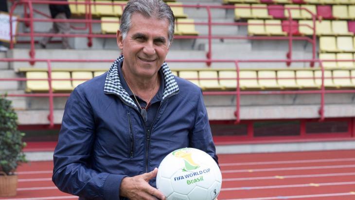 Carlos Queiroz Trainer der iranischen Nationalmannschaft; Foto: imago/GEPA pictures