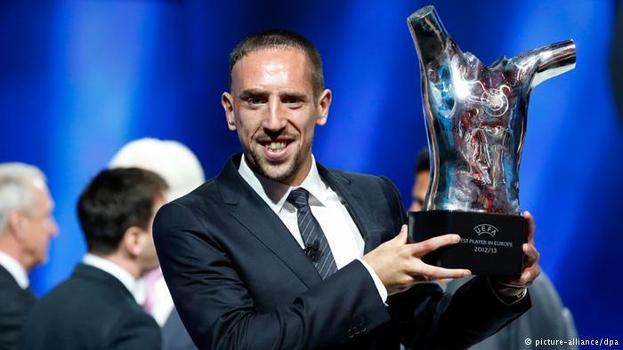 Franck Ribéry ist Europas bester Fußballer
