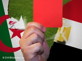 Symbolbild Konflikt zwischen Algerien und Ägypten; Foto: DW/Bilderbox
