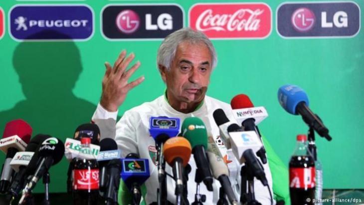 Algeriens Nationaltrainer Vahid Halilhodzic; Foto: dpa/picture-alliance