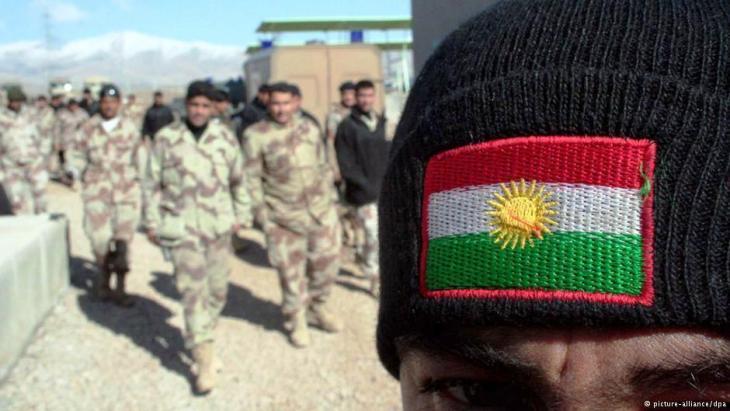 Kurdische Peschmerga-Kämpfer in Kirkuk; Foto: dpa/picture-alliance