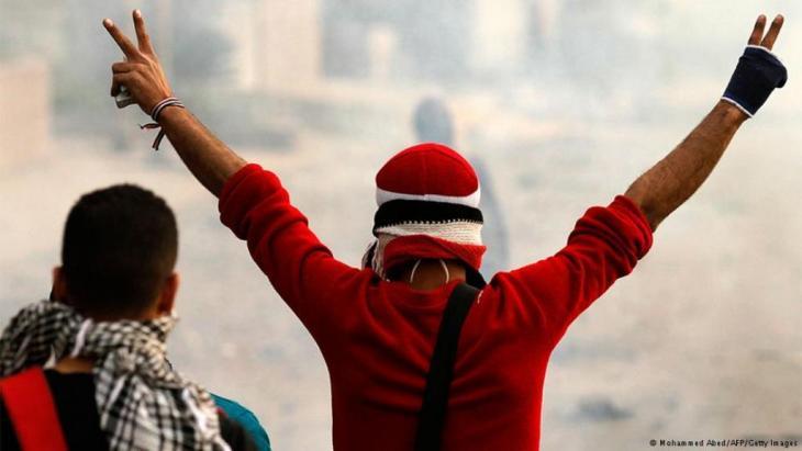 Proteste auf dem Tahrir-Platz in Kairo gegen die Militärherrschaft