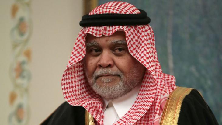 Saudischer Geheimdienstchef Prinz Bandar bin Sultan; Foto: picture-alliance/dpa