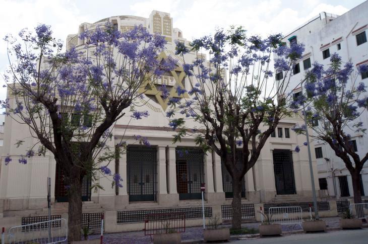 Große Synagoge in Tunis; Foto: Sarah Mersch