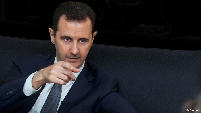 Bashar al-Assad. Photo: Reuters