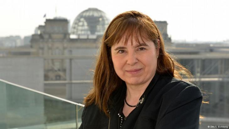 DW-Redakteurin und ARD-Korrespondentin Bettina Marx; Foto: DW