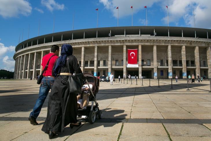 Türkische Präsidentenwahl im Berliner Olympiastadion; Foto: Getty Images