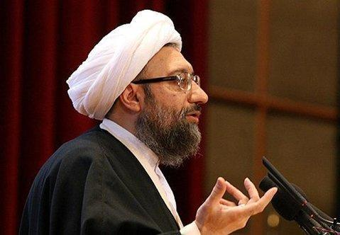 Irans Justizchef Sadegh Laridschani; Foto: Fars