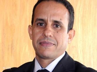 Der marokkanischer Autor und Journalist Ali Anouzla; Foto: DW