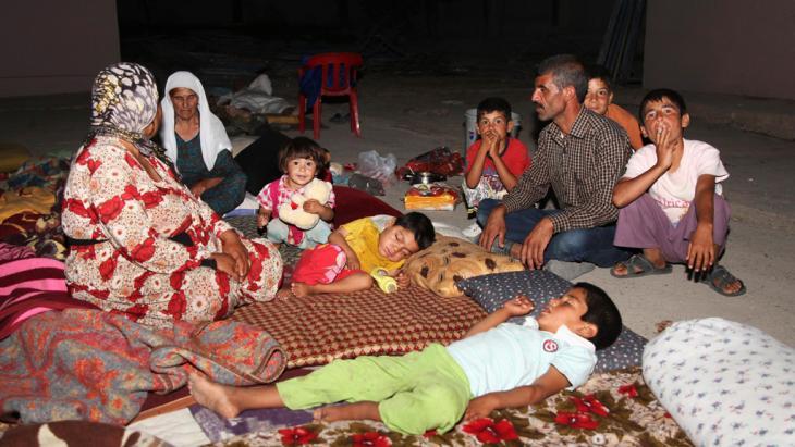 Jesidische Flüchtlinge in der Dohuk-Provinz; Foto: Reuters