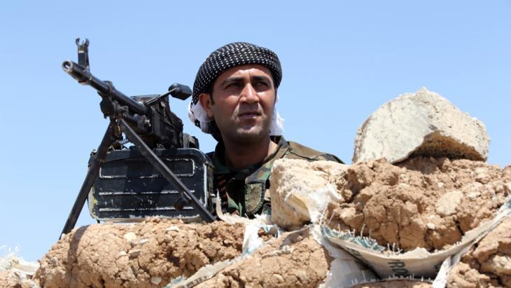 Peschmerga-Kämpfer bei Mossul; Foto: Ahmad Al-Rubaye/AFP/Getty Images