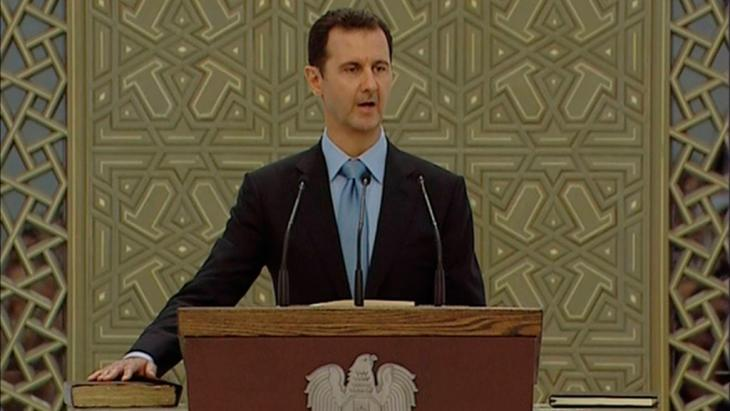 Syriens Präsident Baschar al-Assad, Foto: Reuters/Syria TV