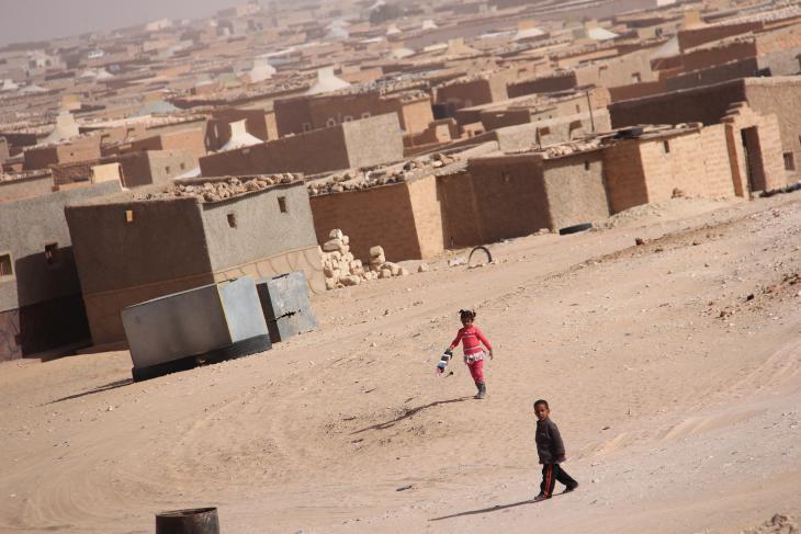 Flüchtlingslager Dakhla bei Tindouf; Foto: UNHCR/D. Alachi