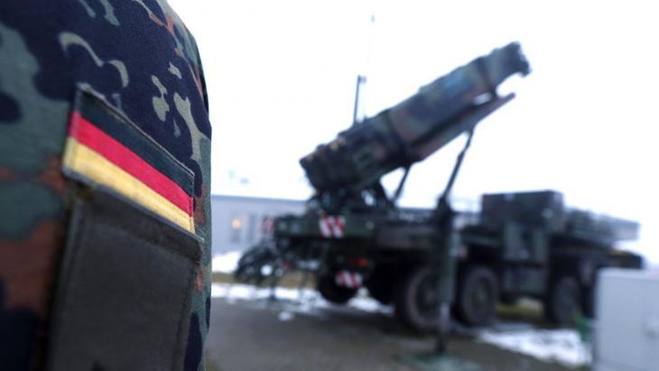 Symbolbild Deutschland Waffenexporte; Foto: Getty Images