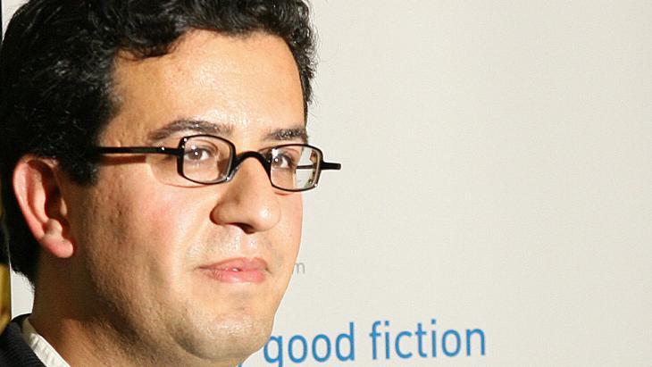 Der libysche SChriftsteller Hisham Matar; Foto: JOHN D MCHUGH/AFP/Getty Images