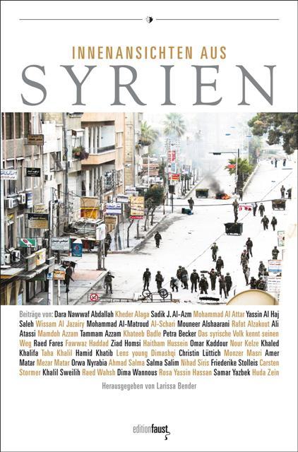 """Buchcover """"Innenansichten aus Syrien""""; Quelle: edition Faust"""