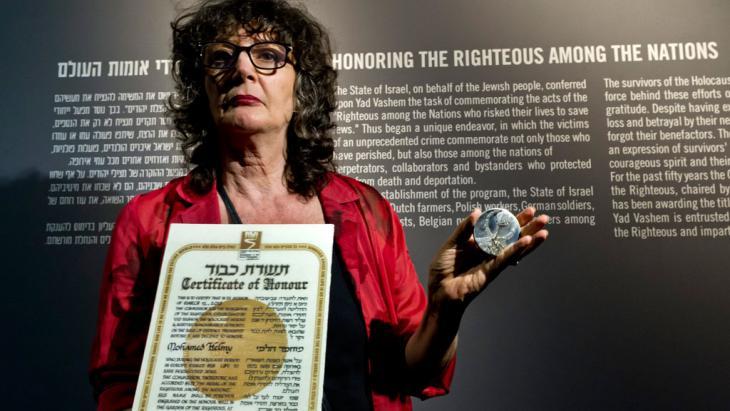 Yad Vashem Direktorin Irena Steinfeldt; Foto: picture-alliance/dpa