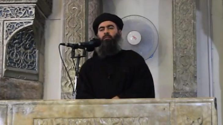 Abu Bakr al-Baghdadi; Foto: picture-alliance/dpa